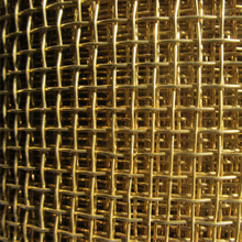 Copper Crimped Mesh